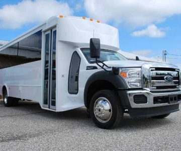 22 Passenger party bus rental Springfield