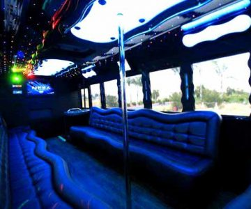 40 people party bus Clarksville