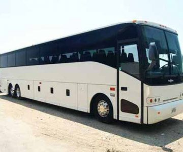 50 passenger charter bus Knoxville