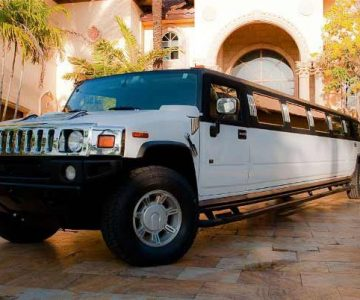 Hummer limo Cumberland