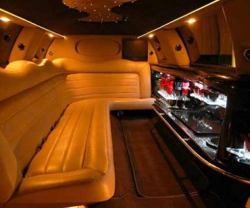 Lincoln stretch limo party rental Franklin