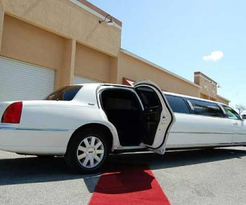 lincoln stretch limousine White House