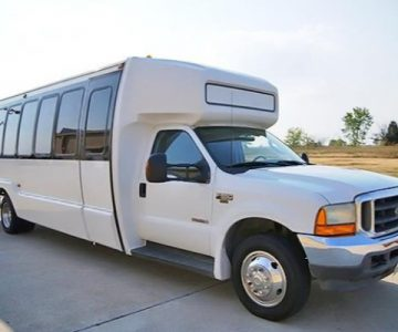 20 Passenger Shuttle Bus Rental Spring Hill