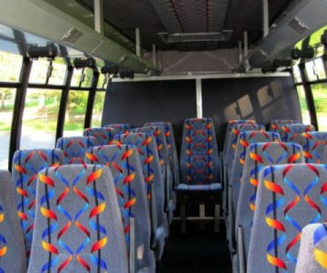 20 Person Mini Bus Rental Greenbrier