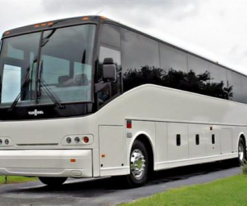 50 Passenger Charter Bus White House